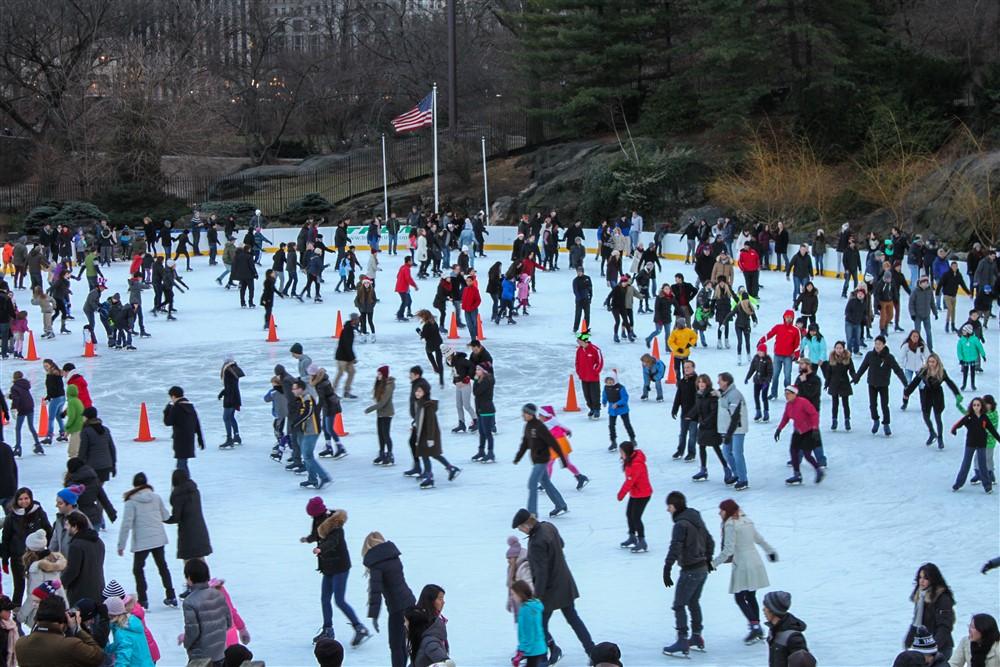 Schaatsbaan Central Park
